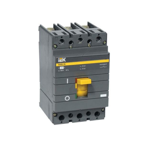 Выключатель автоматический ВА88-35 3Р 250А 35кА ИЭК