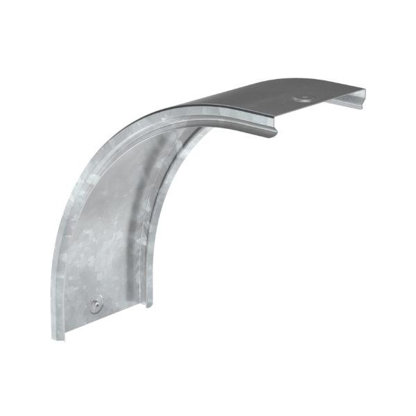 Крышка поворота плавного 90град вертикального внешнего (тип В20) ESCA 80мм HDZ IEK