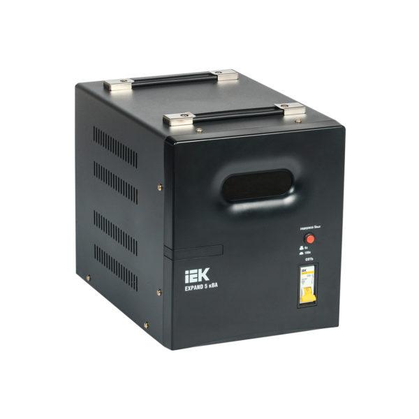 Стабилизатор напряжения переносной EXPAND 5кВА IEK