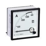Амперметр аналоговый Э47 1500/5А класс точности 1,5 72х72мм IEK