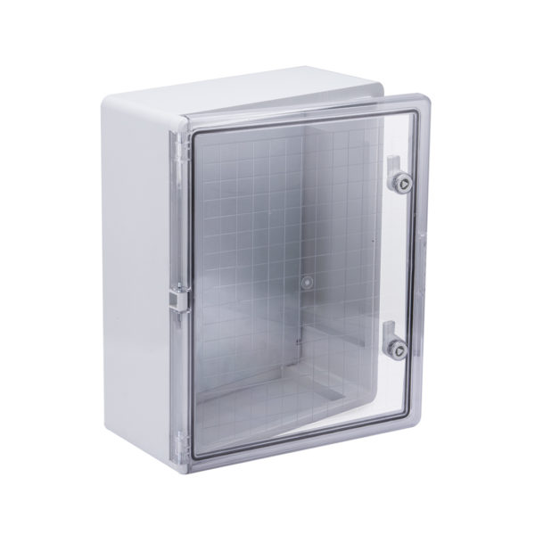 Корпус пластиковый ЩМПп 500х400х180мм прозрачная дверь УХЛ1 IP65 IEK