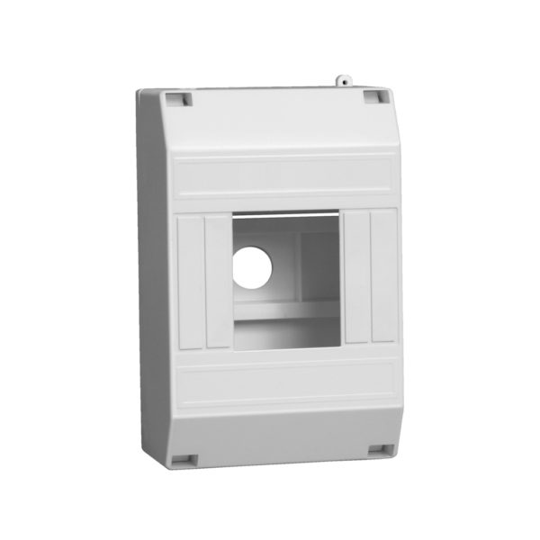 KREPTA 3 Корпус пластиковый КМПн 1/4 IP20 белый IEK