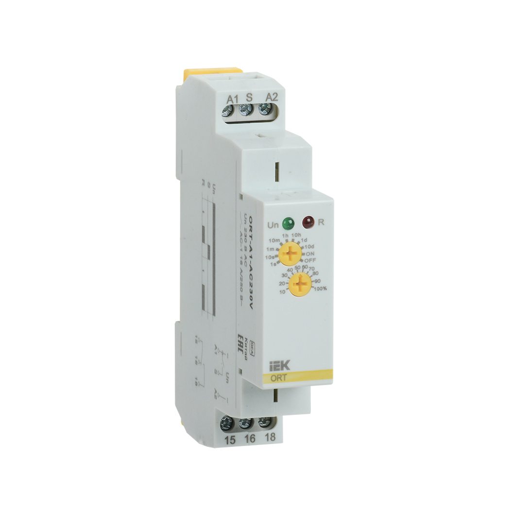 Реле задержки включения ORT 1 контакт 230В AС IEK