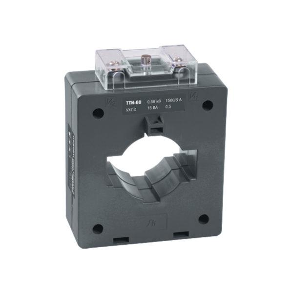 Трансформатор тока ТТИ-60 1000/5А 10ВА класс 0,5S IEK
