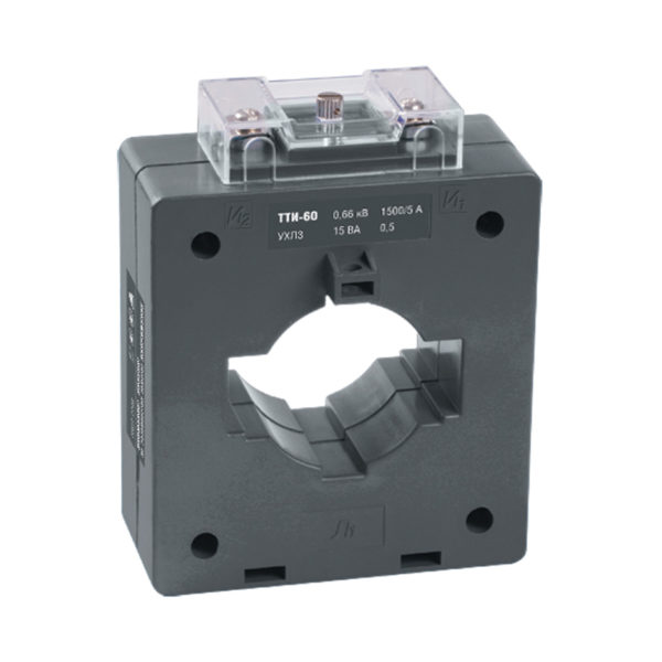 Трансформатор тока ТТИ-60 600/5А 15ВА класс 0,5S IEK