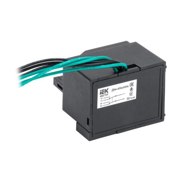 Контакт дополнительный ДКм-400е/630е (ДКм-39) для ВА88-39 MASTER с электронным расцепителем IEK