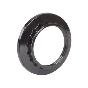 Кольцо абажурное КП27-К01 к патрону Е27 бакелит черный (индивидуальный пакет) IEK