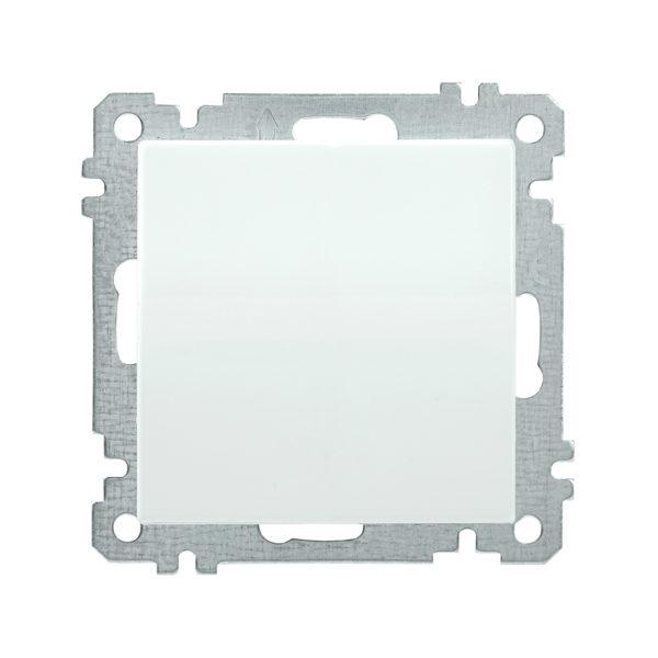 Выключатель 1-клавишный ВС10-1-0-Б 10А BOLERO белый IEK