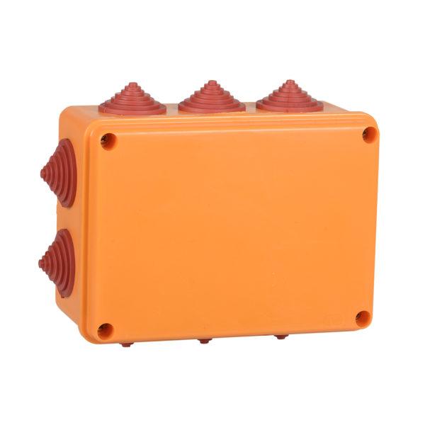 Коробка распаячная огнестойкая ПС 150х110х70мм 6P 6мм2 IP55 10 вводов IEK