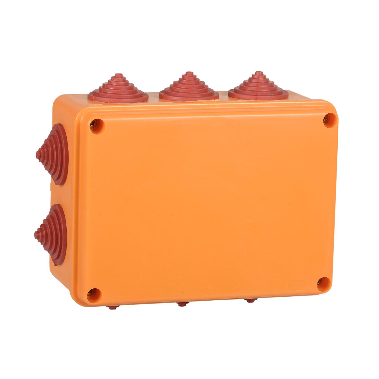 Коробка распаячная огнестойкая ПС 150х110х70мм 6P 6мм2 IP55 10 вводов IEK 1