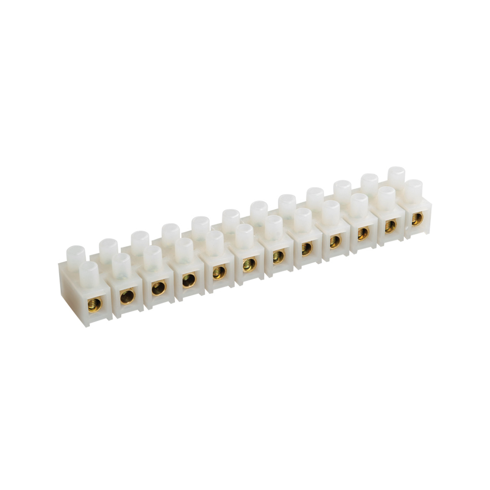 Зажим контактный винтовой ЗВИ-100 10-25мм2 12пар IEK