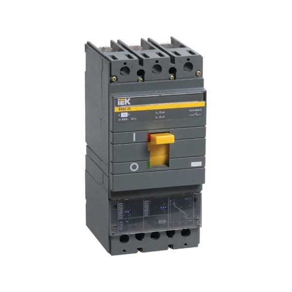 Выключатель автоматический ВА88-35 3Р 250А 35кА с электронным расцепителем MP 211 ИЭК