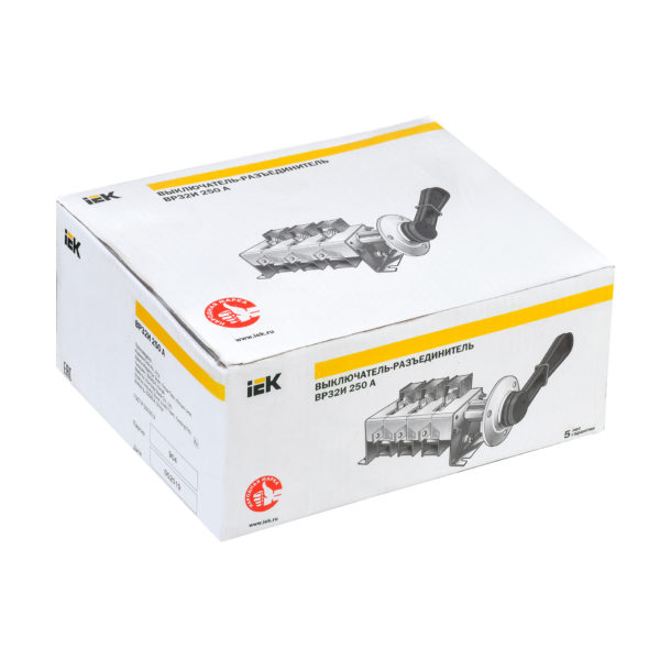 Выключатель-разъединитель ВР32И-39В31250 630А IEK