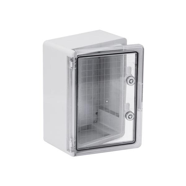 Корпус пластиковый ЩМПп 350х250х150мм прозрачная дверь УХЛ1 IP65 IEK