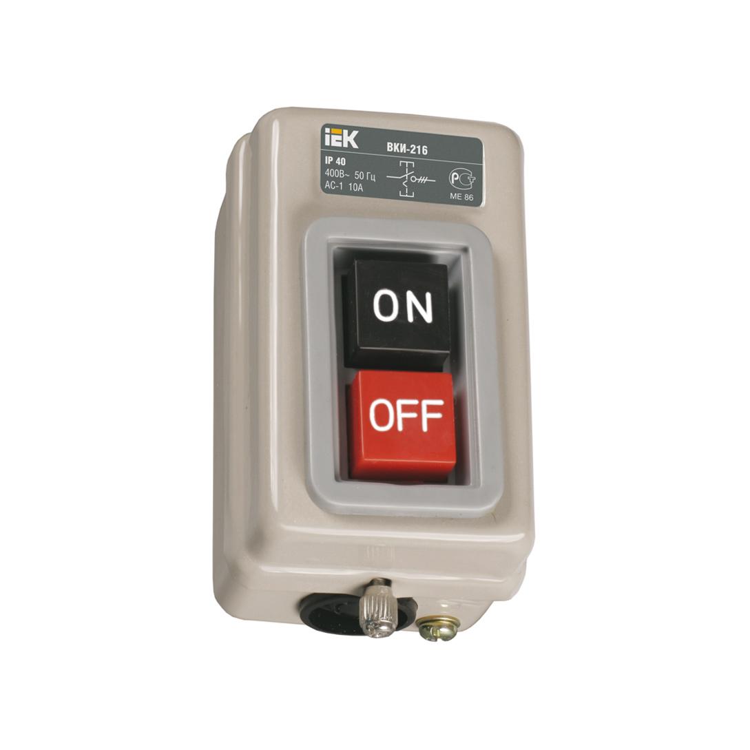 Выключатель ВКИ-211 3Р 6А 230/400В IP40 IEK