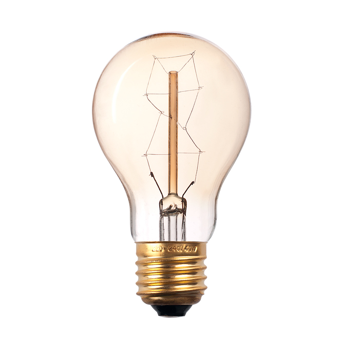 Лампа накаливания декоративная RETRO GOLD RETROA60GOLD60W E27
