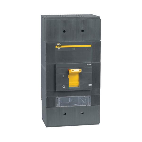 Выключатель автоматический ВА88-43 3Р 1250А 50кА с электронным расцепителем МР 211 IEK
