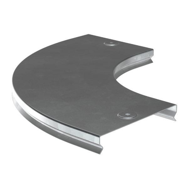 Крышка поворота плавного 90град (тип Г01) ESCA 50мм HDZ IEK