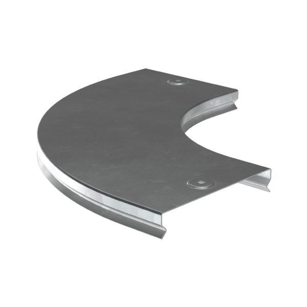 Крышка поворота плавного 90град (тип Г01) ESCA 80мм HDZ IEK