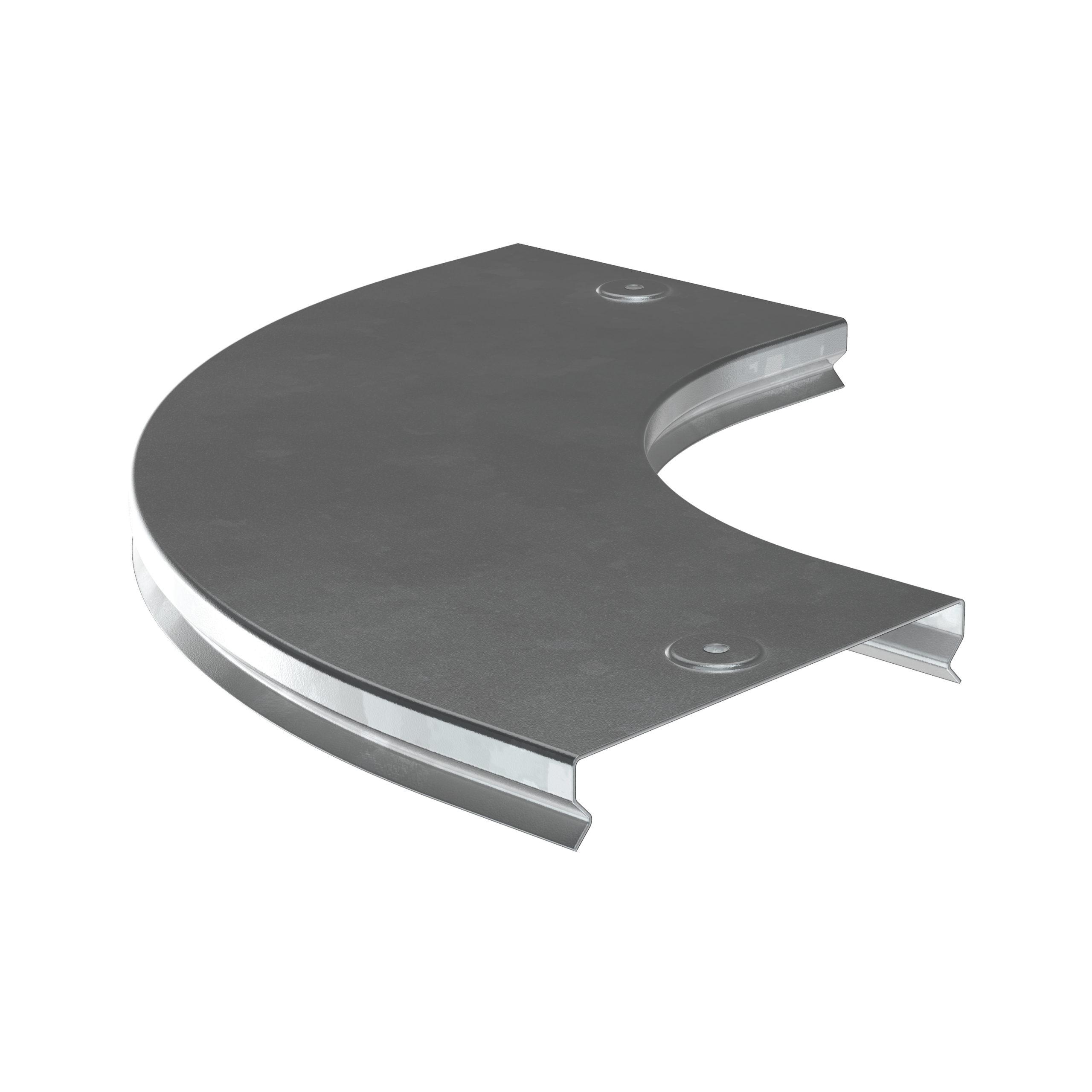 Крышка поворота плавного 90град (тип Г01) ESCA 80мм HDZ IEK 1