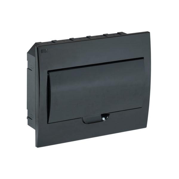 KREPTA 3 Корпус пластиковый ЩРВ-П-12 IP41 черная дверь черный IEK