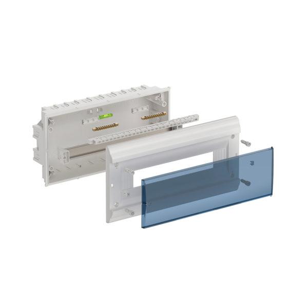 Бокс ЩРВ-П-18 модулей встраиваемый пластик IP41 PRIME IEK