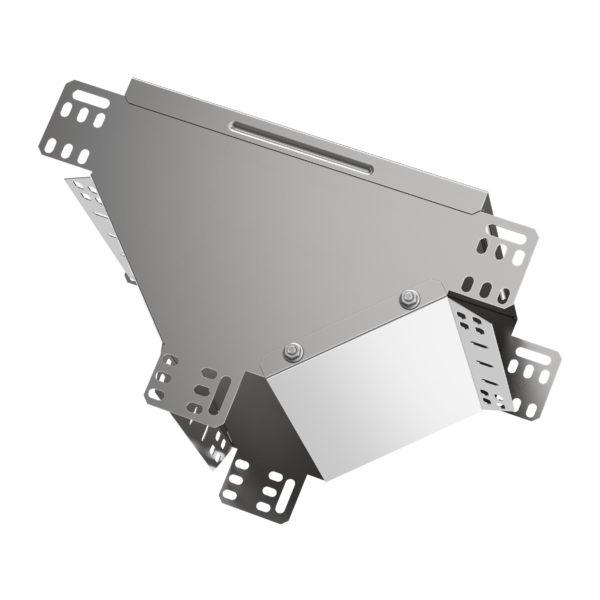 Ответвитель Т-образный вертикальный вниз 100х400 HDZ IEK
