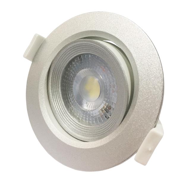 Cветильник светодиодный встраиваемый PSP-R PSP-R90447W 3000K 38°SILVIP40