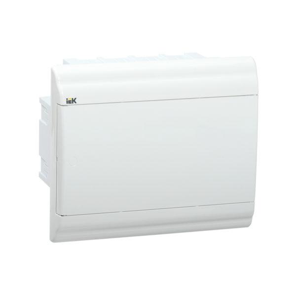 Бокс ЩРВ-П-9 модулей встраиваемый пластик IP41 PRIME белая дверь IEK