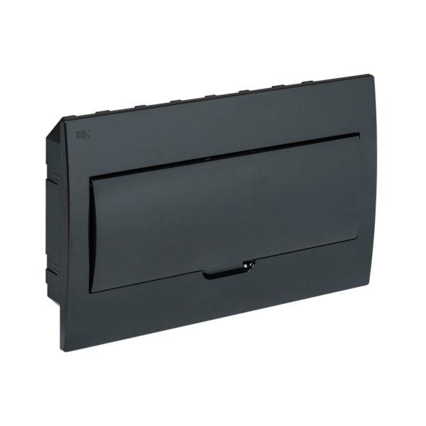 KREPTA 3 Корпус пластиковый ЩРВ-П-18 IP41 черная дверь черный IEK