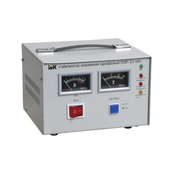 Стабилизатор напряжения однофазный СНИ1-0,5 кВА IEK (восстановленный)