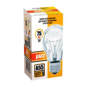 Лампа накаливания A55 A55240V75WE27clear