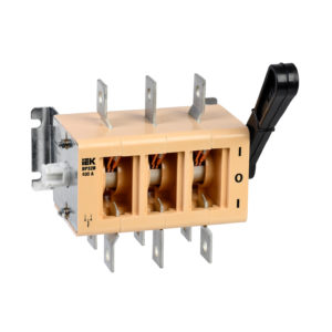 Выключатель-разъединитель ВР32И-37А70220 400А IEK