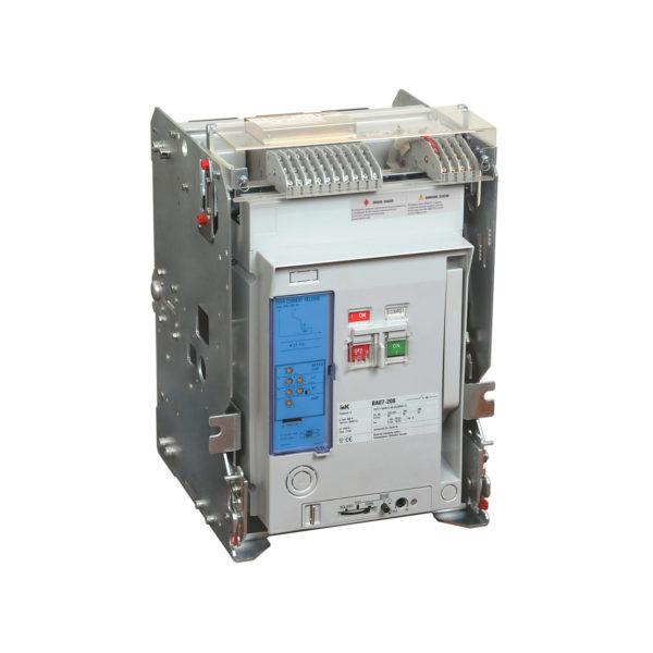 Выключатель автоматический ВА07-216 стац. с мин. расц. 3P 1600А 65кА IEK