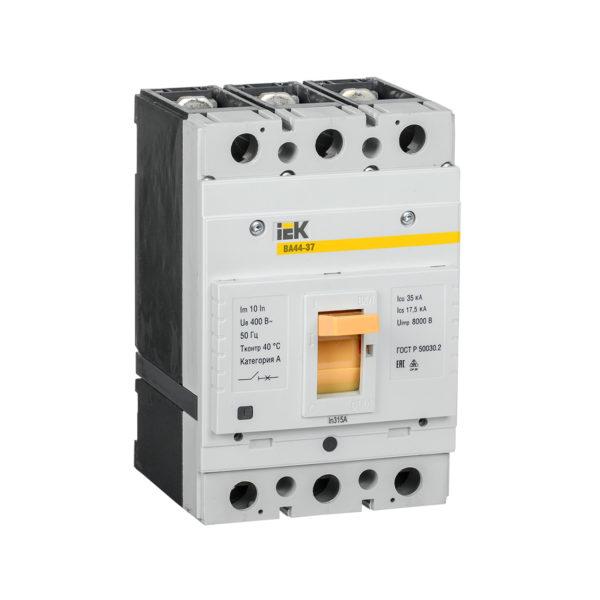 Выключатель автоматический ВА44-37 3Р 315А 35кА IEK