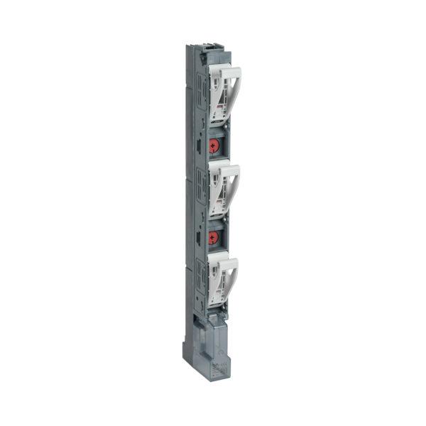 Предохранитель-выключатель-разъединитель ПВР-1 вертикальный 160А 185мм с пофазным отключением c V-образными коннекторами IEK