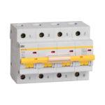 Выключатель автоматический ВА47-100 4Р 20А 10кА C IEK 1