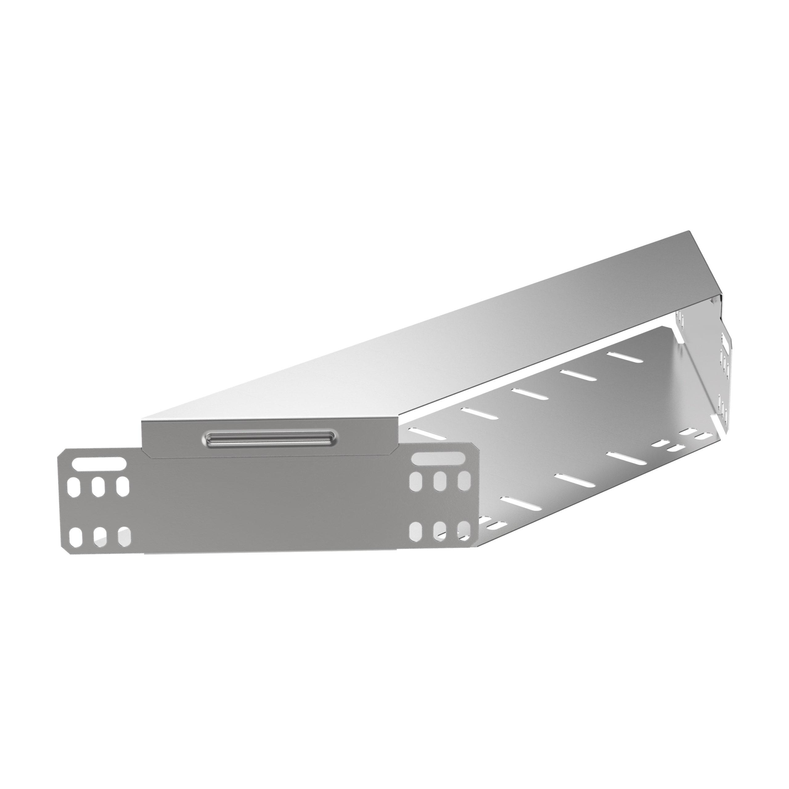 Отвод Т-образный горизонтальный 50х100 HDZ IEK 1