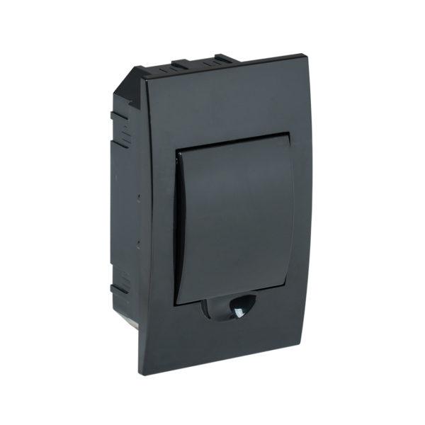 KREPTA 3 Корпус пластиковый ЩРВ-П-4 IP41 черная дверь черный IEK