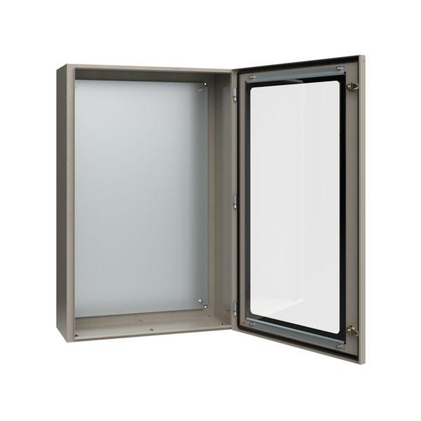 Корпус металлический ЩМП-5-0 У2 IP54 с прозрачной дверцей IEK
