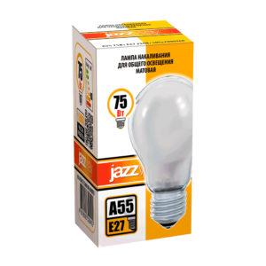 Лампа накаливания A55 A55240V75WE27 frosted