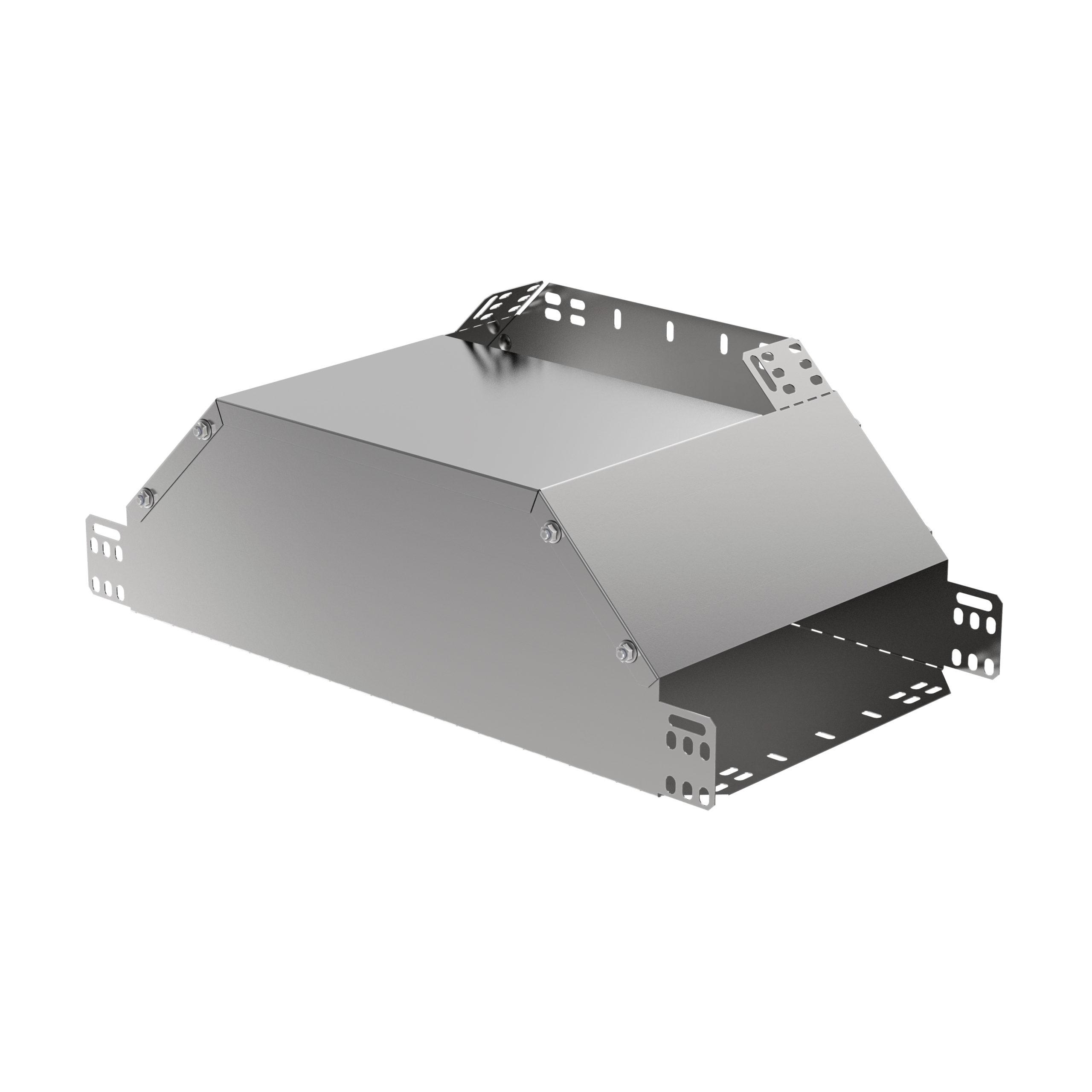 Ответвитель Т-образный вертикальный вверх боковой 100х200 HDZ IEK 1