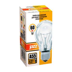 Лампа накаливания A55 A55240V60WE27 clear